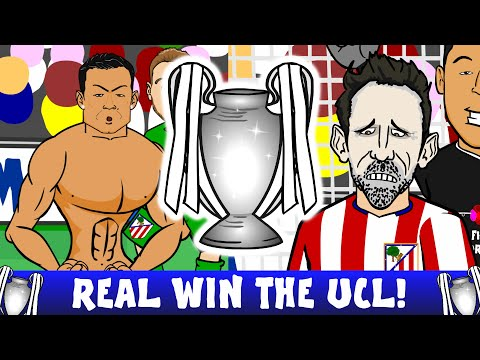 REAL MADRID CHAMPIONS LEAGUE FINAL 2016! (Penalty Shoot-Out Real vs Atletico Madrid 1-1)