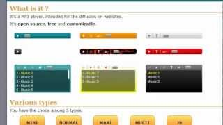 Embed A Free MP3 Player On Your Website No Ads VideoMp4Mp3.Com