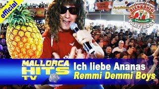 Remmi Demmi Boys - Ich liebe Ananas - Peter Wackel´s Bierkönig Partyboot