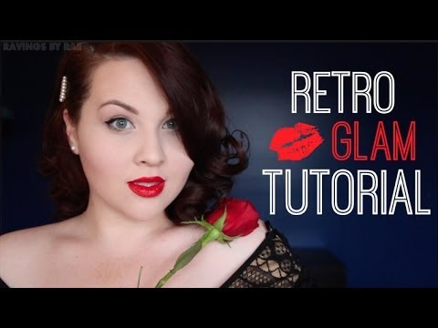 Retro Glam Makeup Tutorial