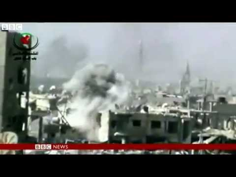 Syria conflict: UN urges humanitarian access in Homs
