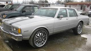1984 Chevrolet Caprice Classic Start Up, Exhaust, and In Depth Tour