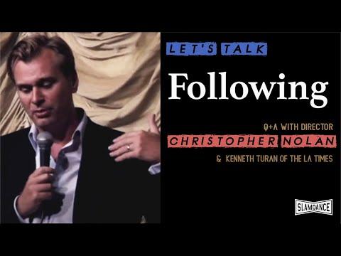 Christopher Nolan Interview