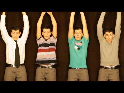 Party in the USA Cover - made by mouth, voice and tambourine - Acapella - Mike Tompkins Music Videos