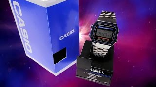 Retro Watch Review : Casio A168 Electro Luminesence LCD :o)