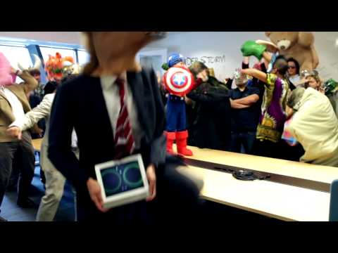 Harlem Shake: Belkin Thunderstorm Edition (The best and funniest version)