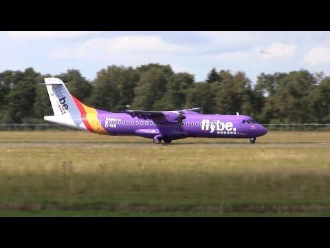 Flybe ► ATR 72-500 ► Takeoff ✈ Groningen Airport Eelde