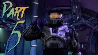 Let's Play Halo Combat Evolved Part 5 | Saving Mr Keyes