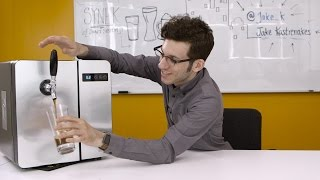 Synek's beer fridge puts a tap in your home