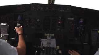 Boeing 737-300 Cockpit Take Off
