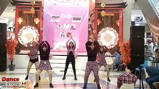 Red Land Dance Cover Red Velvet at A K-Pop Gathering Event with Nostalgia Depok Town Square 170219