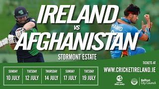 Live: Ireland vs Afghanistan in Belfast second ODI