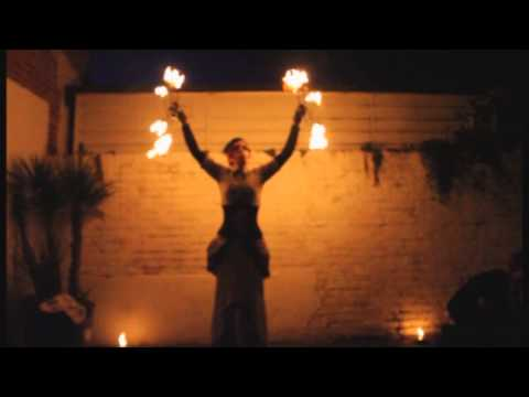 Night Circus Fire Performance