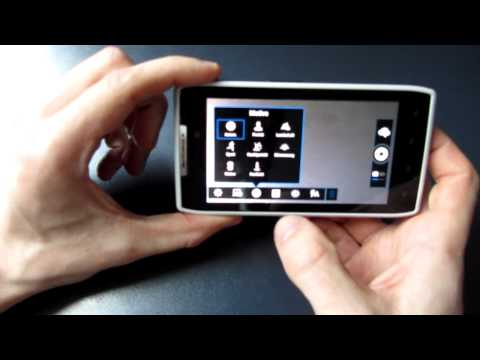 Motorola RAZR mit Android 4.0.4 Ice Cream Sandwich