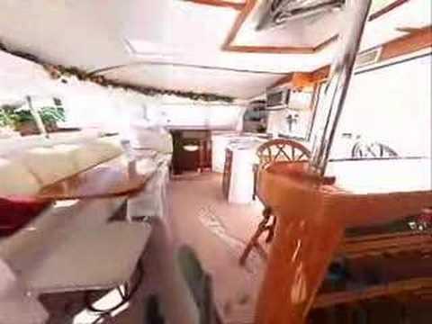 Catamarans.com: Panoramic Tour of Prowler 48 Catamaran