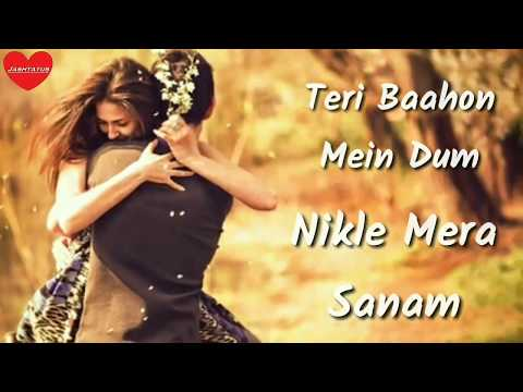 Tere Baahon Mein Dum Nikle Mera Sanam | Ankit Tiwari | Mithoon | Tere Liye Status | Jashtatus