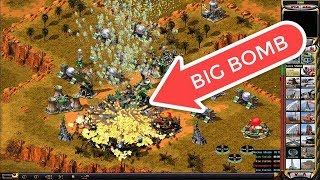 Red Alert 2 Make a big explosion on the basis of the enemy