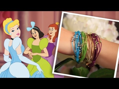 DIY Cinderella Inspired Bracelets - An Anneorshine Disney Exclusive
