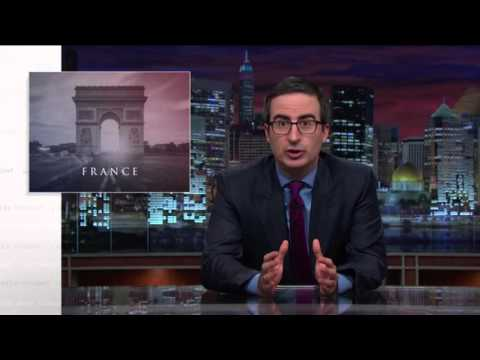 John Oliver Paris Attacks