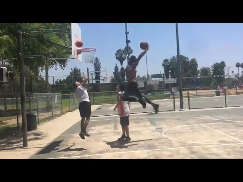 NBA Players' Drive By Dunk Challenge