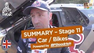 Stage 11 Summary - Car/Bike - (San Juan / Río Cuarto) - Dakar 2017