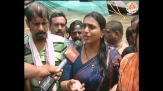 RK Roja takes Holy Bath at Godavari Pushkar 2015