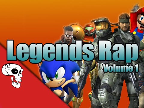 """Video Game Legends Rap, Vol. 1 - """"Heroes"""" by JT Music"""