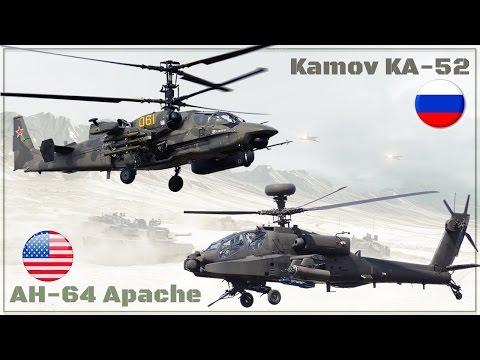 Ка 52 Аллигатор против Апача