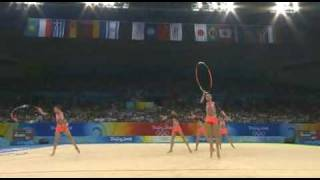 Belarus 3 hoops 4 clubs 2008 olympic games Beijing Q