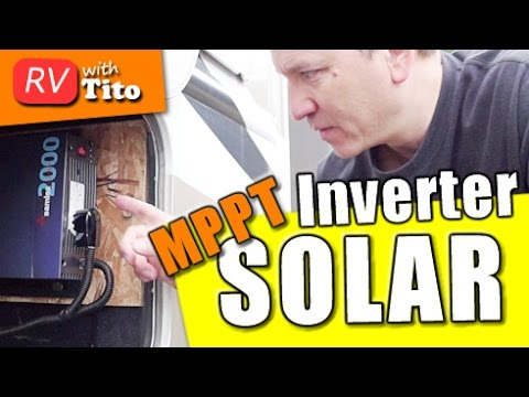 DIY RV Solar - Inverter Installation and MPPT Charge Controller Upgrade