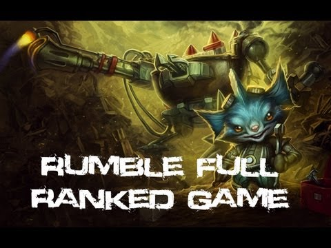 League Of Legends - Rumble Platinum Division 2 Ranked (Game #1)