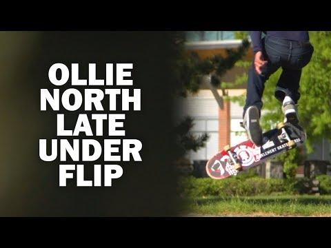 Ollie North Late Underflip: Cristobal Bahamonde || ShortSided