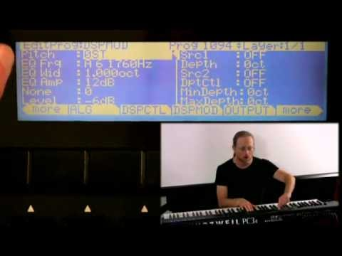 5 Kurzweil PC3 Series: Program Mode Editor (Part 3)