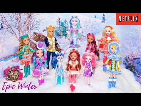 NEW Ever After High EPIC WINTER Doll Collection #1