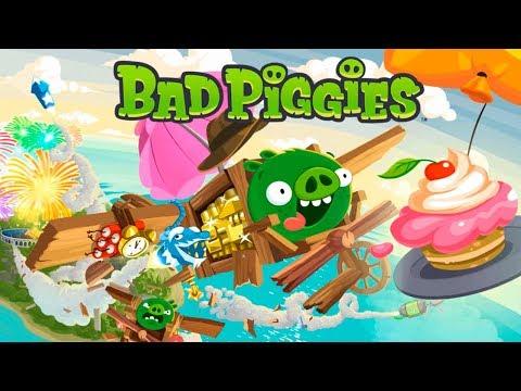 Bad Piggies Плохие Свиньи Строим ПРАВИЛЬНЫЙ Транспорт! Обзор игры Детское видео Let's play