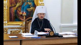Внеочередное заседание Синода БПЦ в связи с кончиной Митрополита Филарета