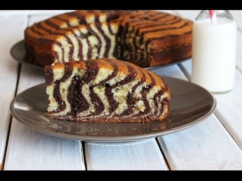 recette du g teau zebr zebra cake recipe youtube. Black Bedroom Furniture Sets. Home Design Ideas