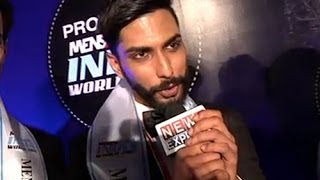 Prateik Jain winner of the Provogue MensXP Mr India World 2014.