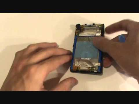 Zune 120gb Hard Drive Replace Fix E5 Error 5 Repair Replacement 2nd Generation Gen