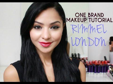 One Brand Drugstore Tutorial: Rimmel London!!!