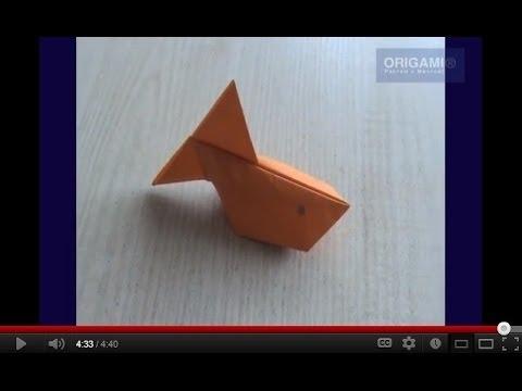 Видео надувные оригами