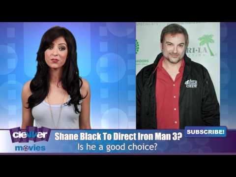 "Shane Black May Direct ""Iron Man 3"""