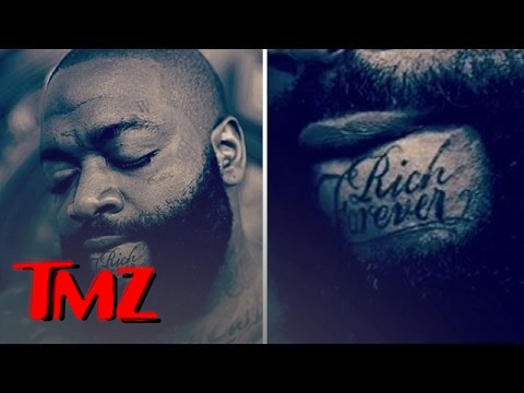 "Rick Ross' ""Rich Forever"" Tattoo"
