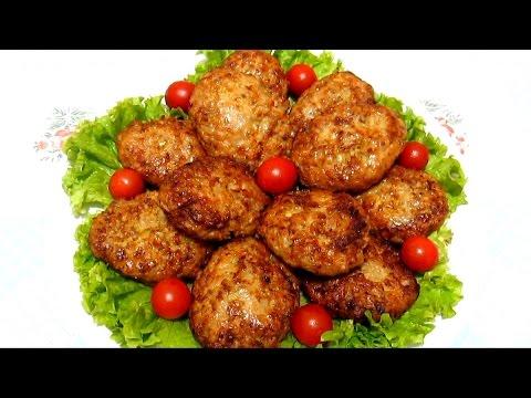 #КОТЛЕТЫ с гречкой #ГРЕЧАНИКИ  Сочные и очень Вкусные Рецепт