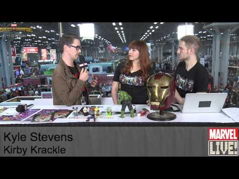 Kyle Stevens Picks His Marvel Character Band on Marvel LIVE! at NYCC 2014