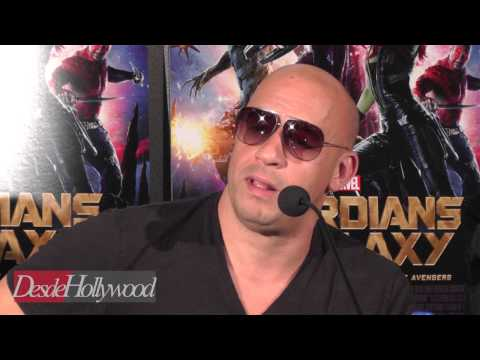 Vin Diesel on why 'Guardians' helped him after Paul Walker's tragedy