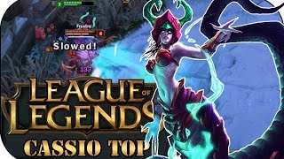 EXTREM STARK! CASSIOPEIA TOP | League of Legends Gameplay deutsch