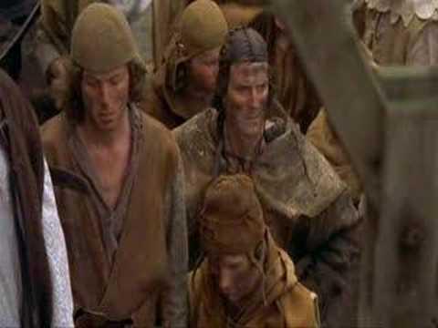 """Monty Python a Svatý Grál – scénka s """"čarodějnicí"""""""