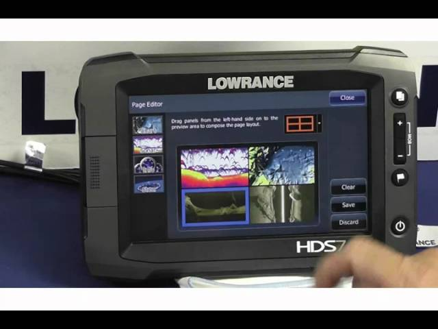 Lowrance HDS 7 touch