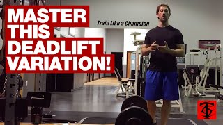 How to do the Squat-Stance Deadlift